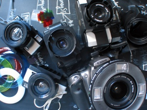Lomo Ring Flash: All adaptors and accessories