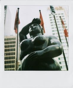 Eve by Fernando Botero