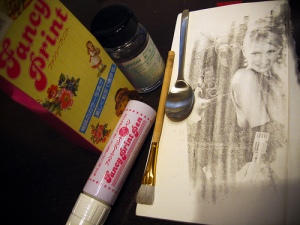 Image Transfer Liquid from Japan Holbein