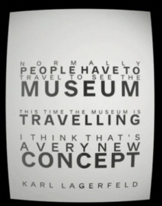 Travelling museum