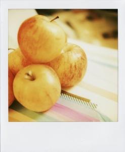 Last Polaroids Apples