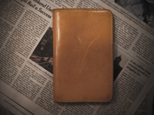 Field Notes Leather Cover by Gfeller