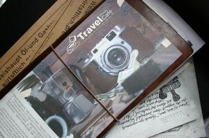 Travel Photo Cafe Printed Postcard