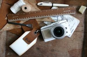 DIY Leather Strap for E-P1