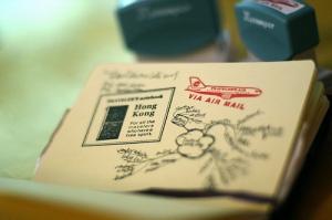 Midori Traveler's Notebook Stamp Hong Kong Version