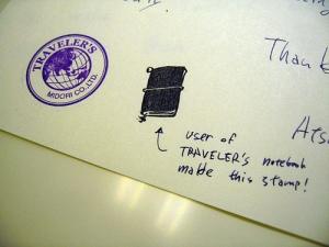 Traveler's Notebook Stamp