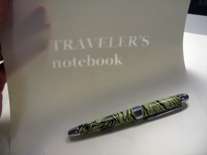 Traveler's Notebook - Watermarked A4 Paper