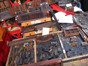 Type Cases and Wooden Types