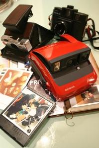 Polaroid One600 Rossa, SX-70 and Holga