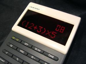 ADESSO Color Screen Calculator