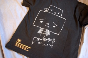Shin Kitai Drew His Character To-Fu on the T-shirt I Bought