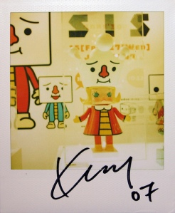 Kenny Wong - Devilrobots x SIS Exhibition at LOG-ON