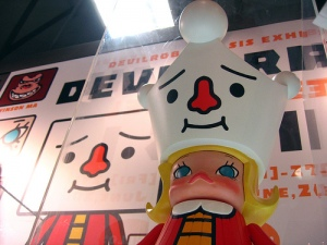 Kenny's Molly: Devilrobots x SIS Exhibition at LOG-ON