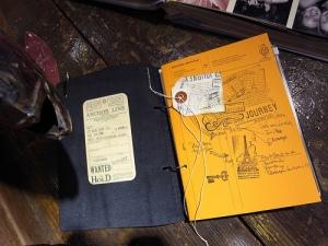 Artemis Put Together Notebook inner cover