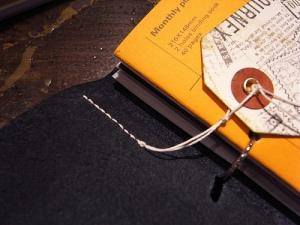 Artemis Put Together Notebook Stitch as a bookmark