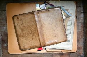 Gfeller Moleskine Leather Case Dyed