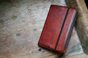 Gfeller Moleskine Leather Case Dyed