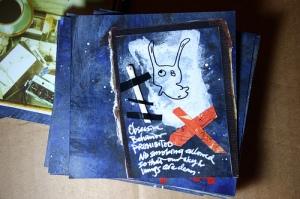 Bind-it-all Project - Blue: obsessive behavior spirit