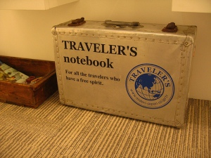 Traveler's Notebook Suitcase