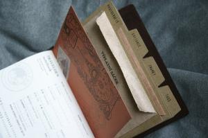 Traveler's Notebook Passport Size - custom notebook pocket inserts