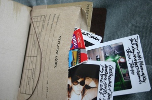 Traveler's Notebook Passport Size - custom notebook pocket inserts - photographs