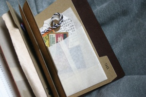 Traveler's Notebook Passport Size - custom notebook pocket inserts
