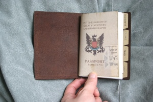 Traveler's Notebook Passport Size - custom notebook insert - front