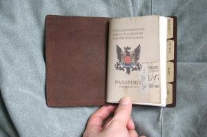 Traveler's Notebook Passport Size - custom notebook insert - front