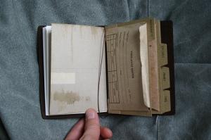 Traveler's Notebook Passport Size - custom notebook pocket inserts - photographs