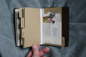 Traveler's Notebook Passport Size - custom notebook pocket inserts - tags