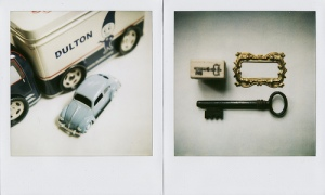Dulton, VW, Key, Stamp, Frame