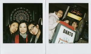 Darts with colleagues