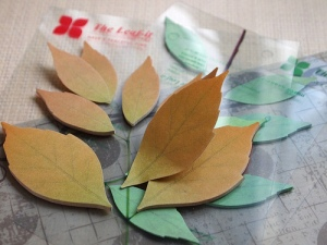 Leaf-it, don't post-it
