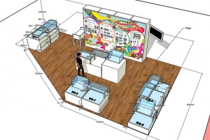 Lomo Neverland - 3D Drawing Plan