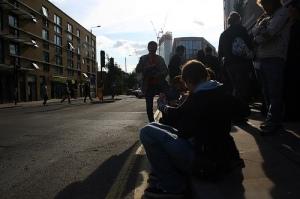 Finishing a day's Urban Symbols walking tour