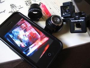 Lomolized iPhone Camera
