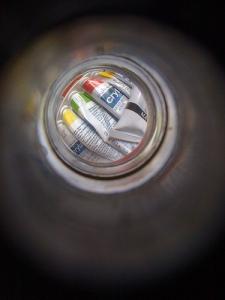 Lomolized iPhone Camera - Fisheye viewfinder