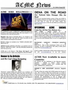 ACME News August