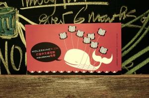 Moleskiner.cn New Year Postcard