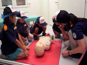 Kidzania: Resuscitation training