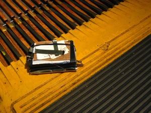 M + Macy's Wooden Escalator