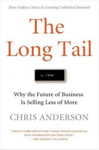 LONG TAIL, THE: WHY THE FUTURE OF BUSINESS IS SELLING LESS OF MORE