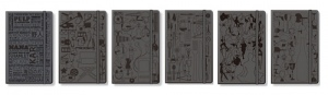 Moleskine Passions journals - fully embossed