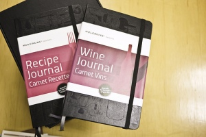 Moleskine Passions journals - wine and recipes