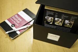 Moleskine Passions journals - Recipes