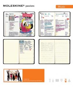 Moleskine Passions journals - demo usage