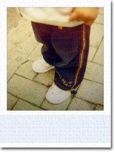 Shu Long waiting for Mini-bus